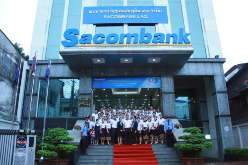 là một trong 3 ngân hàng để triển khai nguồn vốn của WB tại Lào
