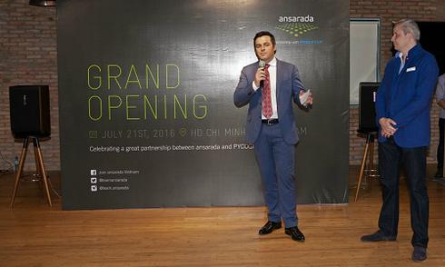 Ra mắt trung tâm phần mềm 'ansarada liên danh cùng PYCO Group'