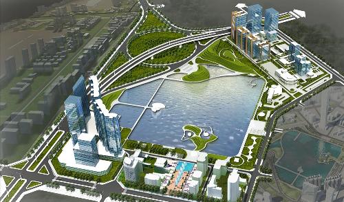 27 7 201611 6357 1469594551 Hà Nội sắp có công viên, hồ điều hòa rộng 32ha