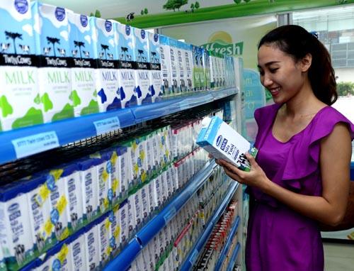 Sản phẩm của Vinamilk đến nay đã có mặt tại 43 quốc gia trên thế giới.