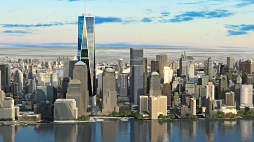 Toàn cảnh dự án Wall Street Tower.