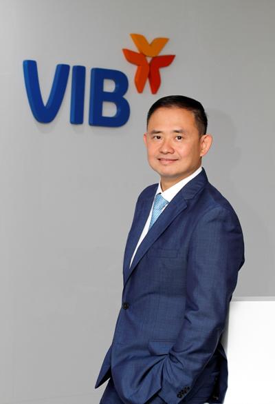 Ông Trần Nhất Minh, Phó Tổng giám đốc kiêm Giám đốc khối Ngân hàng Công nghệ số - Ngân hàng TMCP Quốc tế Việt Nam (VIB)