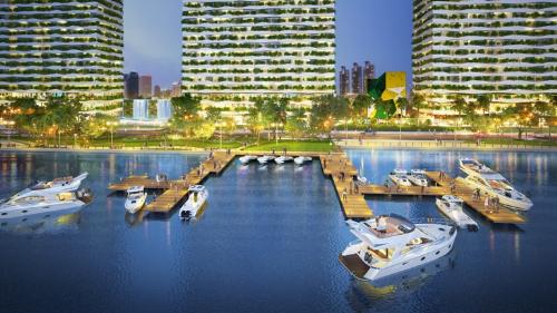 Dự án chung cư chuẩn xanh giá 1,9 tỷ đồng ở Diamond Lotus Riverside