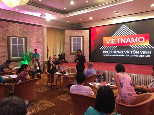 Vietnamo - khát vọng phủ phục hưng và suy tôn vinh hương bởi vốn liếng bản thứ cà phê Việt Nam.