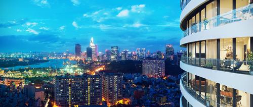 Crescent View huong ve trung t 2475 3322 1474970541 Cùng nhìn qua kiến trúc độc đáo của những tòa cao ốc tại TP HCM