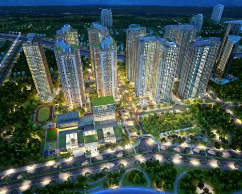 Toàn cảnh dự án GoldMark City.