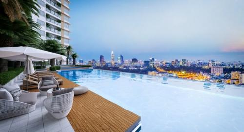 Cư dân tại đây sẽ được hưởng trọn không gian sống như resort giữa lòng thành phố.