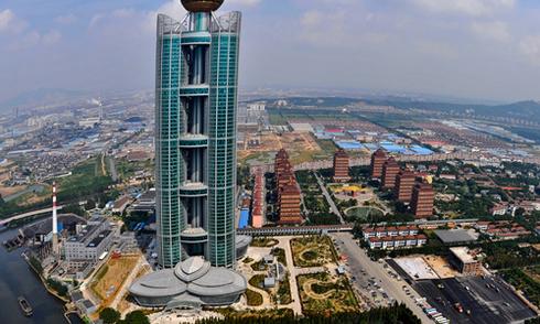 Ngôi làng xa hoa nhất Trung Quốc