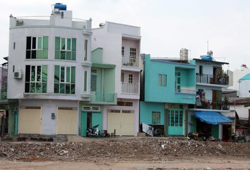 a tb nha pho mini SG 8131 1476592633 Cơn sốt nhà phố mini hơn 100 triệu đồng mỗi m2 ở Sài Gòn
