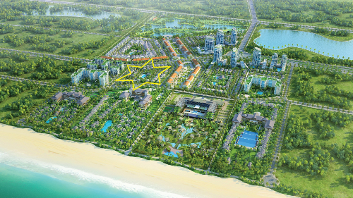Bất động sản Đảo Vàng phát triển dự án biệt thự biển ở Phú Quốc