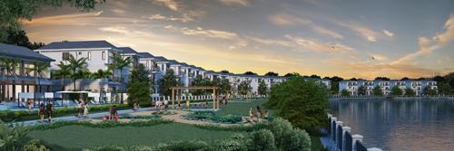 1 11 201643 7915 1478232583 Có tới 26 căn biệt thự nằm ven sông ở Nine South estates