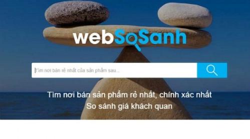 Công ty cổ phần So Sánh Việt Nam, đơn vị vận hành website Websosanh.vn đã nhận đầu tư từ Yello Shopping Media Group (YSM), thuộc Tập đoàn Yello Mobile, Hàn Quốc số tiền không tiết lộ, để hỗ trợ người tiêu dùng mua sắm tốt hơn.