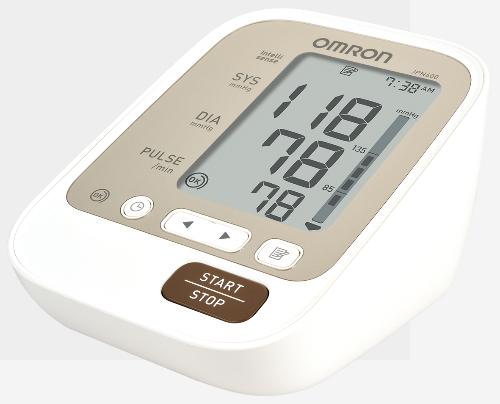 Máy đo huyết áp điện tử - vật dụng không thể thiếu trong tủ thuốc.