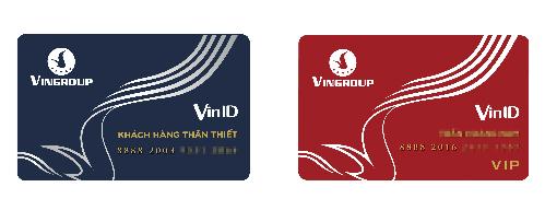Nhận diện mới của thẻ VinID.