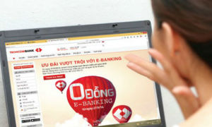 Nhà băng đua triển khai dịch vụ ngân hàng số 0 đồng