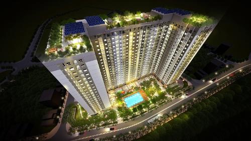 Ra hàng 100 căn cuối cùng DA trung tâm Long Biên-căn hộ xanh - từ 16,5tr/m2 full tiện ích
