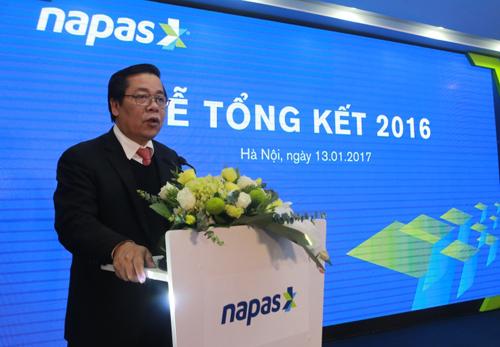 320.000 tỷ đồng thanh toán qua NAPAS năm 2016 - ảnh 1