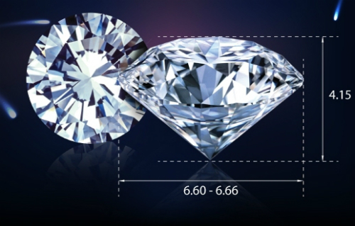 Những viên kim cương Sinh  Lộc  Phát  Cửu có kích thước đẹp không chỉ khoe được độ sáng và phát lửa tối đa mà còn mang thông điệp về ước mong may mắn, bình an trong thời khắc chuyển giao sang năm mới