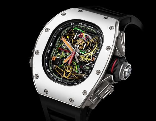 RM50-02 ACJ - đồng hồ triệu USD lấy cảm hứng từ máy bay Airbus - ảnh 1