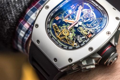 RM50-02 ACJ - đồng hồ triệu USD lấy cảm hứng từ máy bay Airbus - ảnh 2