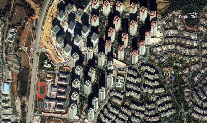 Những thành phố ma khổng lồ ở Trung Quốc