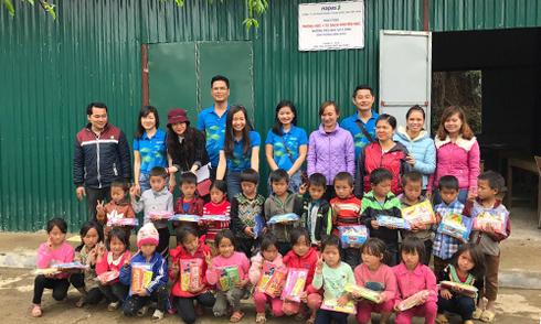 Xây mới 4 phòng học cho trẻ vùng cao Lai Châu