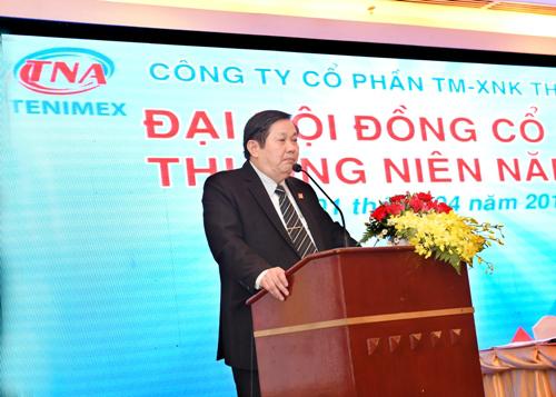 Ông Ngô Hữu Hoàn - Tổng giám đốc Công ty Thiên Nam.