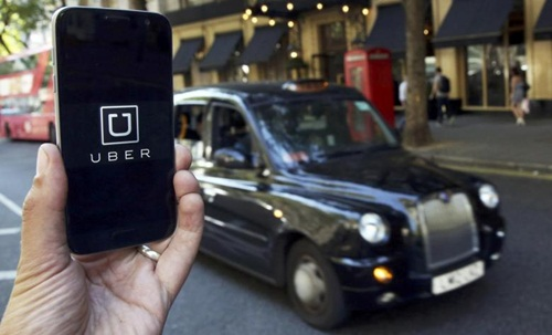 uber hien duoc nha dau tu dinh gia 69 ty usd. anh: reuters