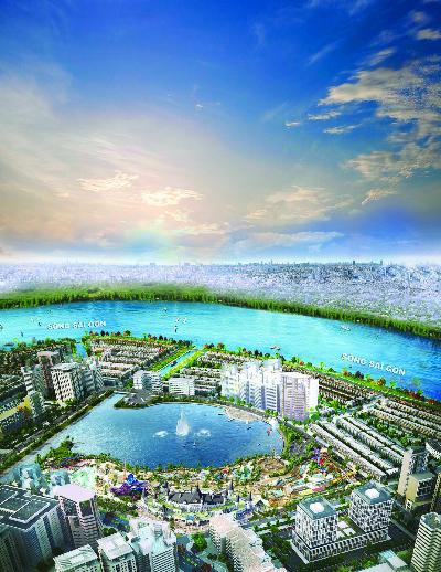 Ocean World Ho Chi Minh dự kiến khởi công trong Quý II/2017 đã tạo đà tăng giá tích cực cho dự án khu đô thị Vạn Phúc.