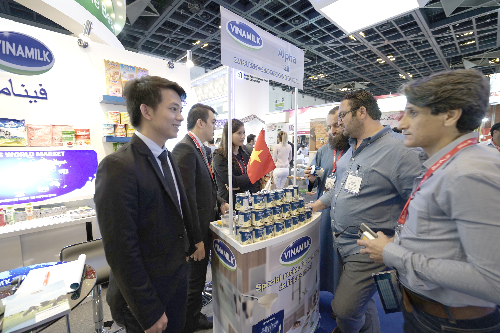 Hiện sản phẩm của Vinamilk có mặt ở hơn 40 nước trên thế giới.