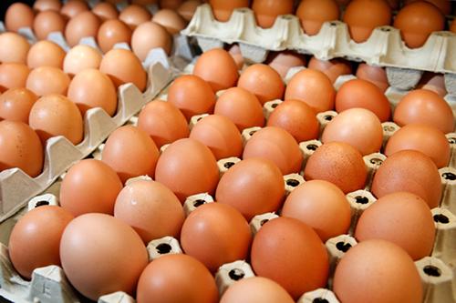 Giá trứng gà rớt mạnh