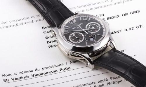 Đấu giá chiếc đồng hồ một triệu đôla nghi của Tổng thống Putin - VnExpress Kinh Doanh