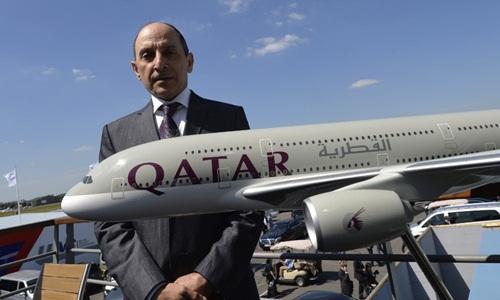 CEO Qatar Airways chỉ trích Mỹ đổ thêm dầu vào lửa