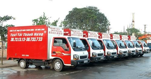 Thành Hưng  đơn vị khai sinh ra loại hình Taxi tải tại Việt Nam