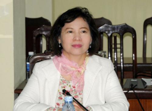 Chưa có hình thức kỷ luật Thứ trưởng Hồ Thị Kim Thoa