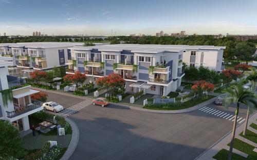 Khang Điền ra mắt thêm dự án nhà liên kế 2 sân vườn - ảnh 2