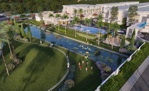 Khang Điền ra mắt thêm dự án nhà liên kế 2 sân vườn - ảnh 1