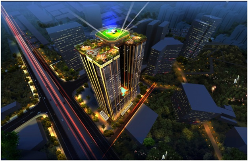 Kiến trúc sang trọng của tòa tháp Sunshine Center - ảnh 1