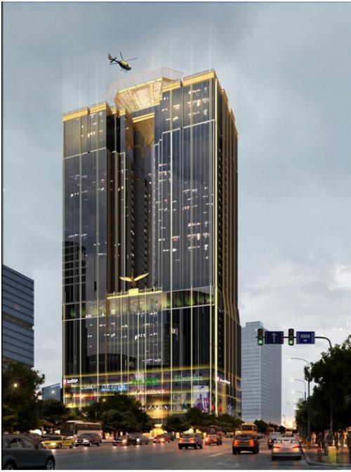 Kiến trúc sang trọng của tòa tháp Sunshine Center - ảnh 2
