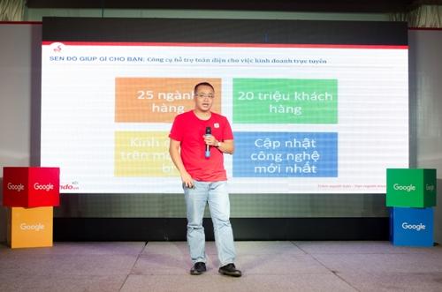 Sendo hợp tác Google tăng doanh thu cho chủ shop online