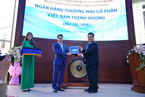 1,33 tỷ cổ phiếu VPBank niêm yết tại HoSE