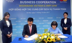 VNPT EPAY và Woori Bank bắt tay cung cấp dịch vụ thanh toán trực tuyến