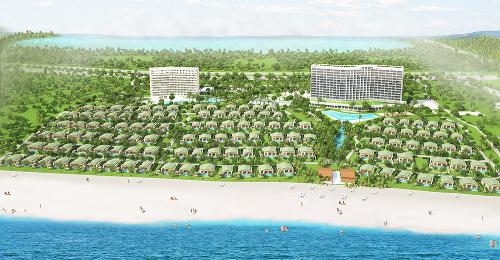 Mövenpick Cam Ranh Resort sắp đi vào hoạt động