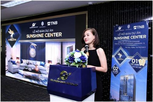 Mở bán dự án Sunshine Center tại Hà Nội