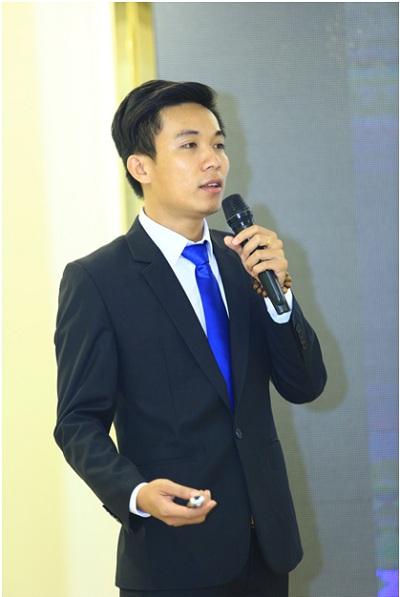 Ông Phạm Việt Đức phát biểu tại sự kiện.