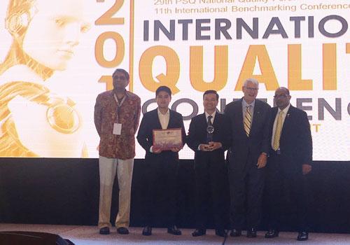 4 doanh nghiệp Việt đoạt giải Chất lượng Quốc tế châu Á - Thái Bình Dương