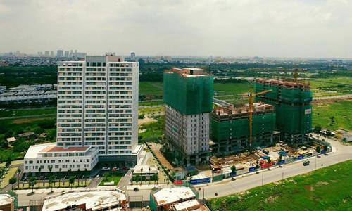 Nhà vừa túi tiền dẫn dắt thị trường bất động sản Sài Gòn