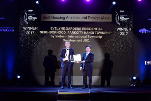ParkCity Hanoi nhận giải thưởng tại PropertyGuru Asia Property Awards