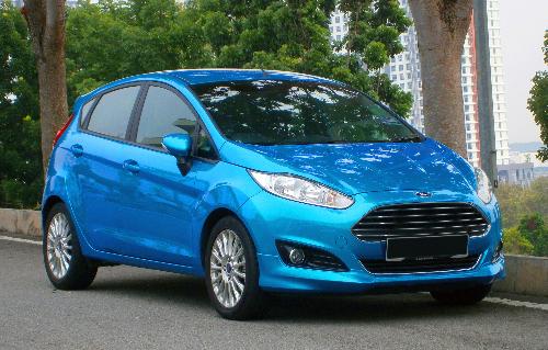 Quà tặng ôtô Ford Fiesta cho cư dân Xuân Mai Riverside