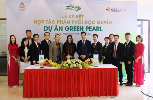 Cenland trở thành đơn vị phân phối dự án Green Pearl 378 Minh Khai